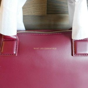 WANT Les Essentiels Bags - WANT Les Essentiels Mini O Hare Leather Tote